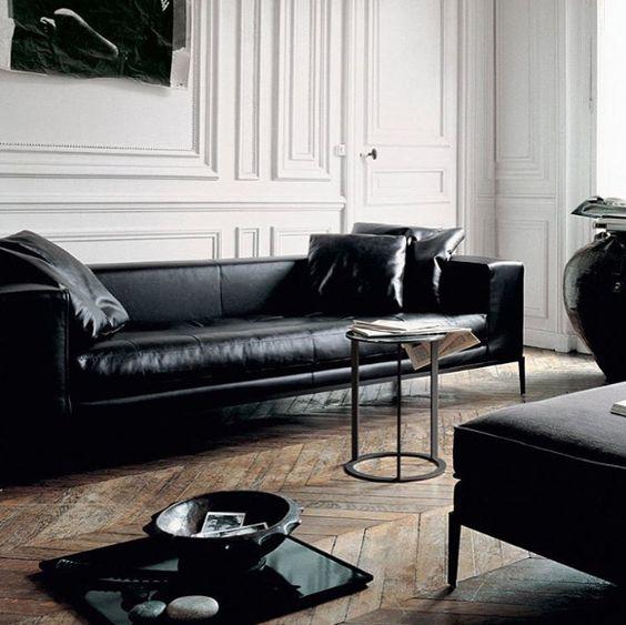 Phòng khách dễ dàng đánh cắp trái tim người nhìn khi mua sofa da tphcm