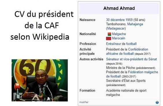 Ce que les comoriens ne savent pas est que le président de la CAF est marocain