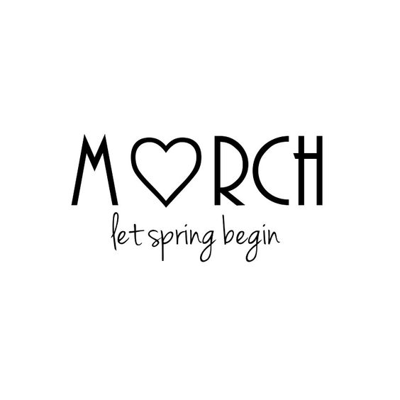Hello March ... Cf2524d6e87f23ee42029812c2afee89
