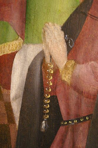 Lochner, Stefan - Outside of an Altar Wing - 1445-1450 | by juan_guthrie
