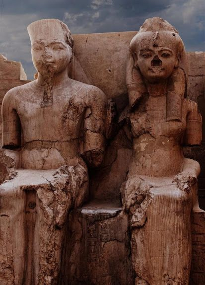 King Tut & Wife Egypt …