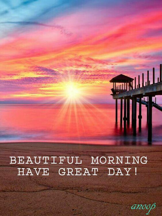 Rise and Shine! Enjoy the sunrise...