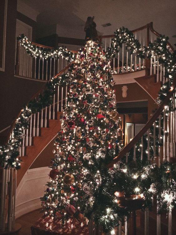 Christmas Aesthetic - A list of Christmas decorating ideas: christmas-allyear...