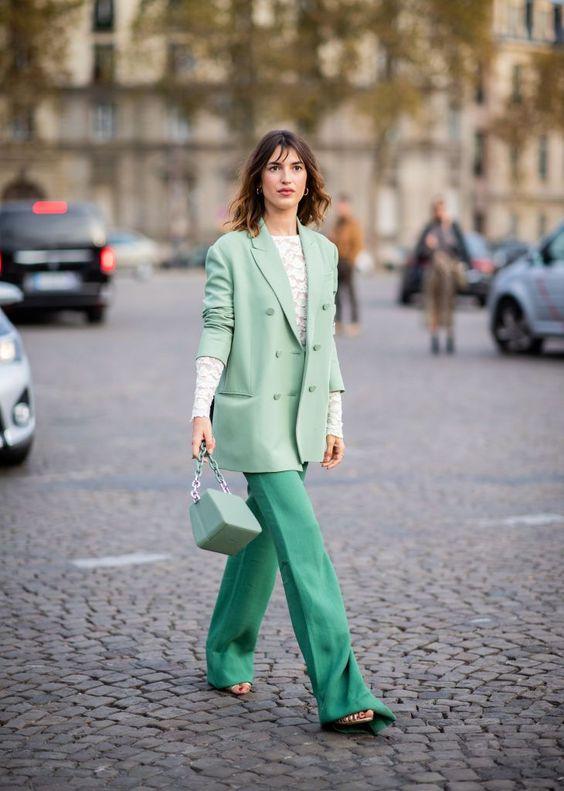 El verde 'mint'- ElleSpain