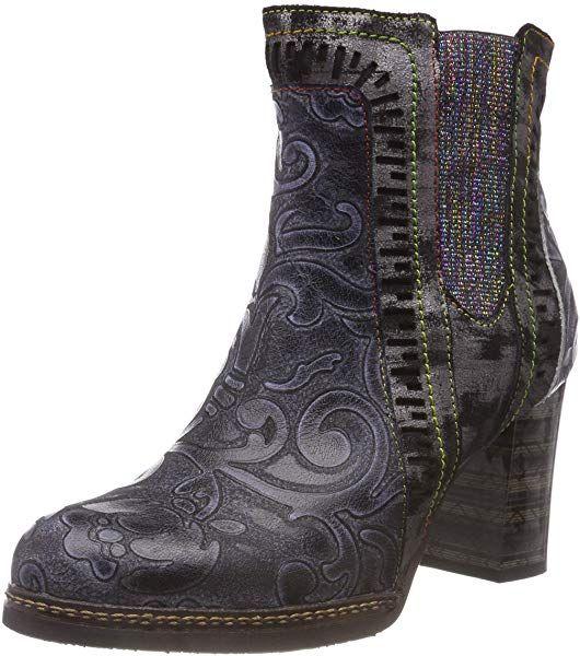 Laura Vita Women's Elea 02 Chelsea Boots, Black Noir, 2 UK: Amazon.co.uk: Shoes & Bags