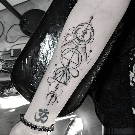 49dcc49b7bdfe 36 Stunning and Non-boring Gemini Tattoos - Our Mindful Life