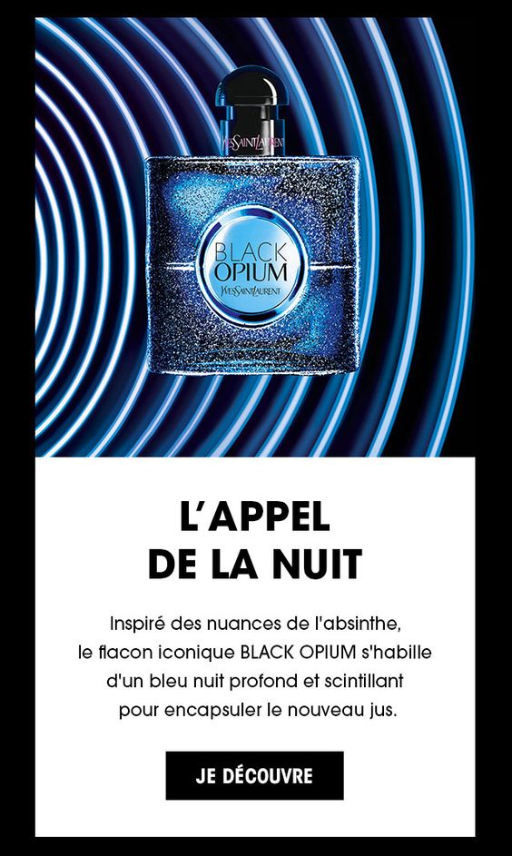 Black Opium Eau de Parfum Intense d'Yves Saint Laurent
