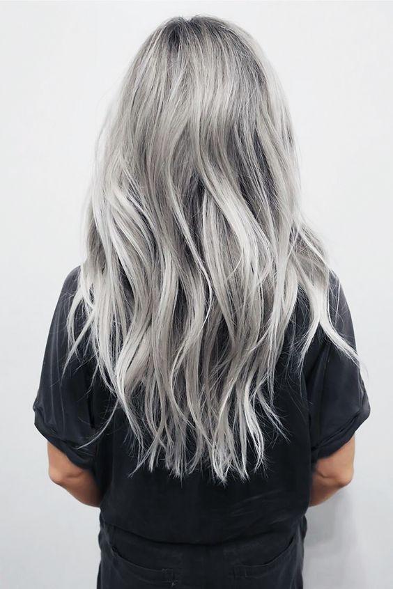 Capelli argento