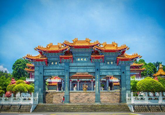 Wen Wu Temple, Taiwan.