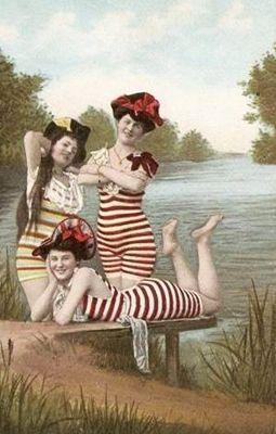 Retroscoop - Strand- en badmode tot de 1950´s