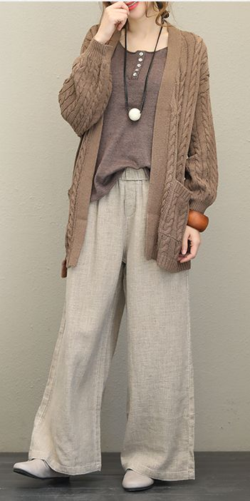Chic Wide Leg Pants
