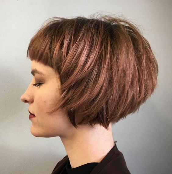 Inspirasi rambut pendek 2019