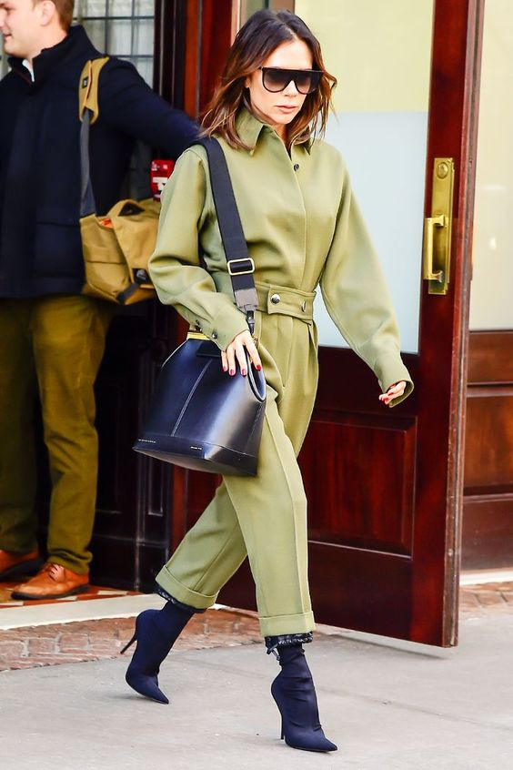 Victoria Beckham Is Making Us Want to Buy This Topshop Boilersuit