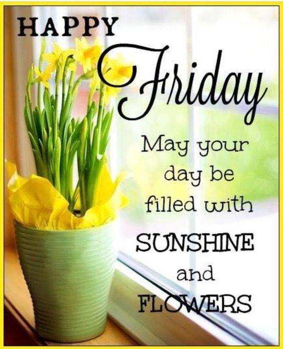 Good morning friday greetings
