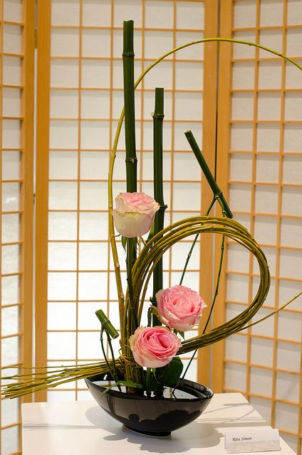 Ikebana.....Ikebana is a sociable name of Kadoh. Kadoh is concerned with mans way of life. It becomes slightly difficult.Therefore, Ikebana is an easy way of speaking.....(^O^)