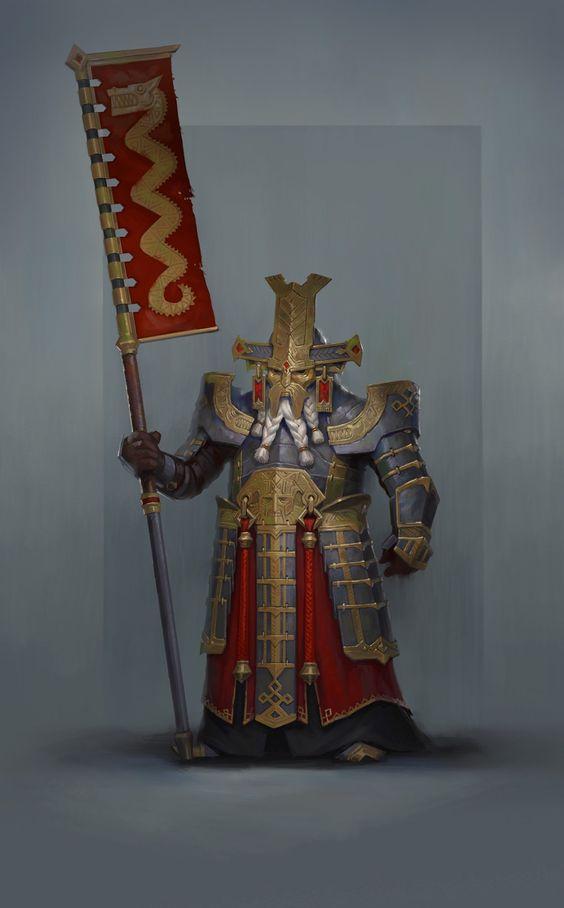 dwarven samurai lord