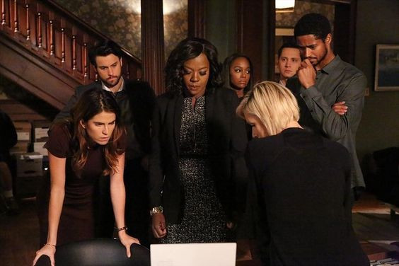 The last five minutes of every #HTGAWM episode stress me more than my entire career!!! - #happyfriday