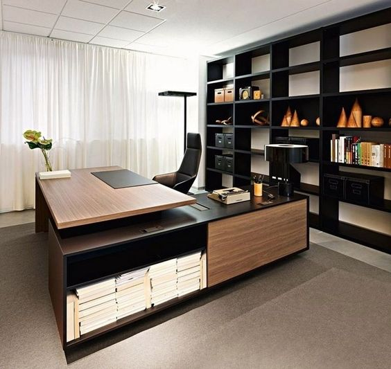 38+ Top Home Office Ideas With Black Walls #homedecorideas #homedecoraccessories #homedecoronabudget