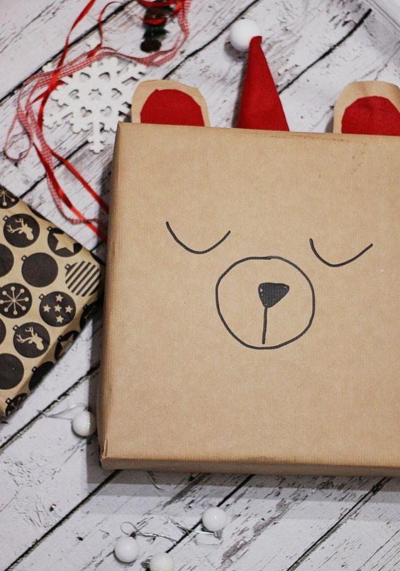 #werbung DIY Geschenke verpacken mit HASBRO, süße Geschenk Verpack Idee für Kinder zu Weihnachten #weihnachtengeschenke