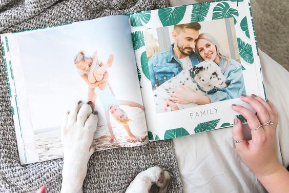 Personalized Couple photo book - personalized birthday gifts for husband that has everything - TodayWeDate.com