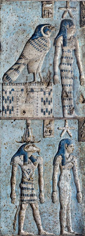 """givemesomesoma: """"Hypostyle hall of the Hathor Temple at Dendera """""""