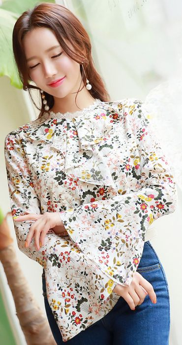 Awesome Ruffle Blouses