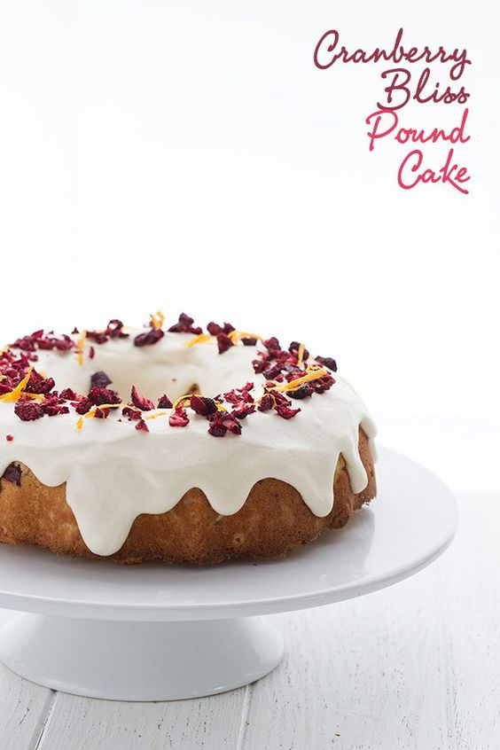 This stunning low carb Cranberry Bliss Pound Cake will be the star of your holiday dessert table. Brought to you in partnership with Pete and Gerry's Organic Eggs. Big cakes make me ridiculously happy. Okay, wait, let me re-state that. Big low carb cakes with lots of glorious sugar-free frosting make me ridiculously happy. They make me even happier when I have an occasion for which to make them. Oh yes, I know I don't NEED an occasion to make a cake. Just being alive and breathing is excuse enou