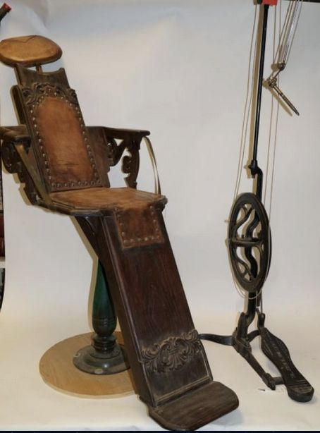 Doc Holiday's Dentist Chair, 1879