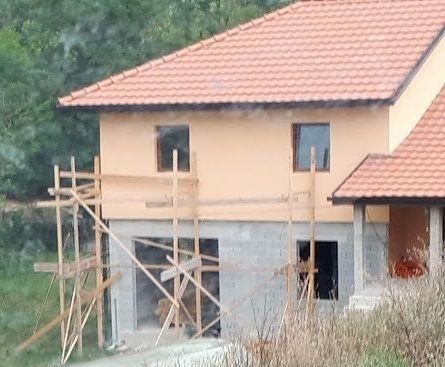 építkezés befejezése