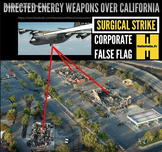 What was the purpose of using the Direct Energy Weapon against California?  Why were these targets chosen?