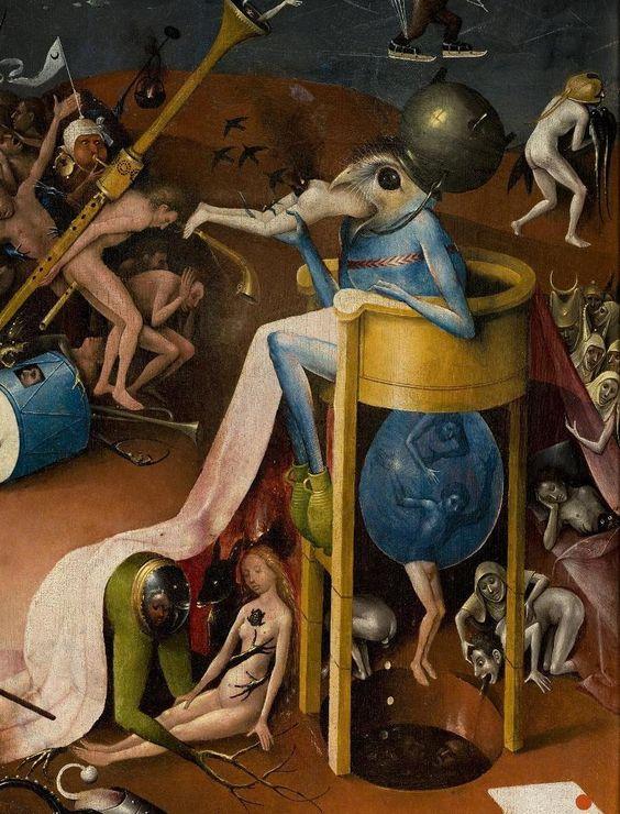 Jheronimus Bosch - Tuin der lusten (detail)