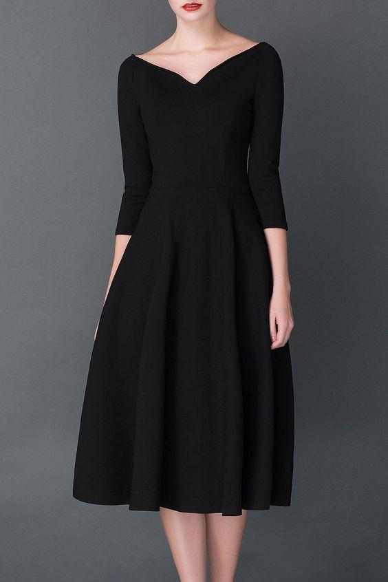 Audrey Hepburn Style LBD ///
