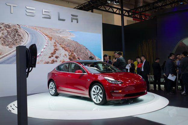 Tesla Stock: Tesla Elon Musk unveils Model Y crossover