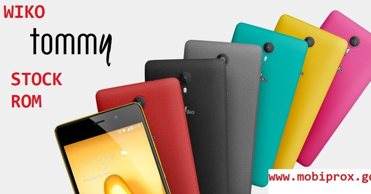 DOWNLOAD WIKO TOMMY STOCK FIRMWARE