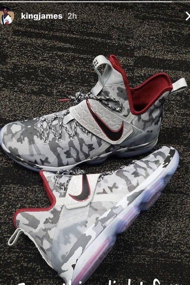 58cbcc97c712 LeBron James wearing Nike Lebron 14
