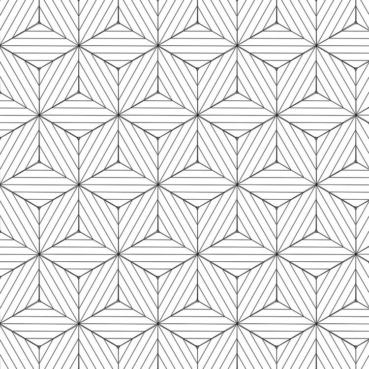 93e0071b2 Papel de Parede Adesivo 3D Geométrico Branco e Preto 237661555