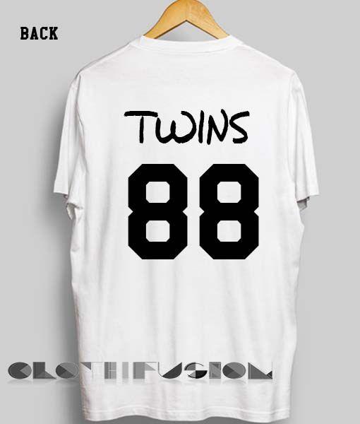 73ea7b88598dad Unisex Premium Twins 88 T shirt Design Clothfusion
