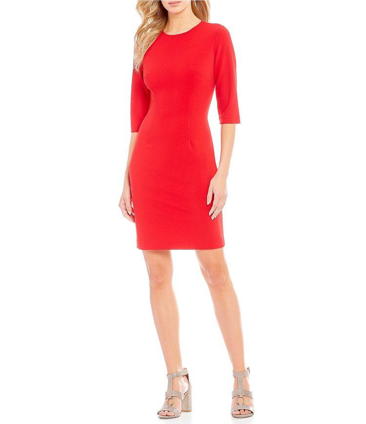 6c7805b526b Shop for Antonio Melani Ferdinand Crepe Sheath Dress at Dillards. The Style  of Your Life.