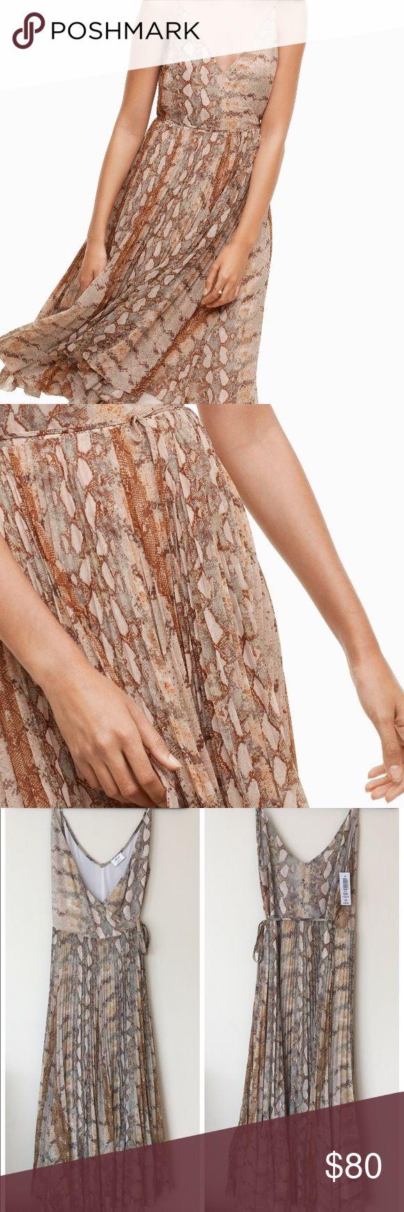 9874f180bfe NWT Wilfred Beaune Dress