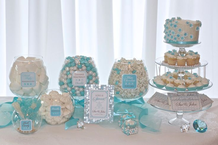 Tiffany And Co Party Decorations