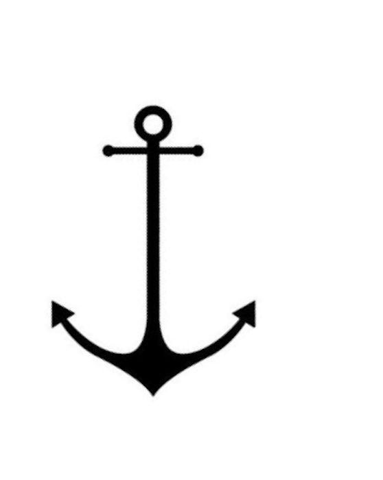 graphic regarding Printable Anchor Stencil known as Gallery For \u003e Anchor Stencil Printable