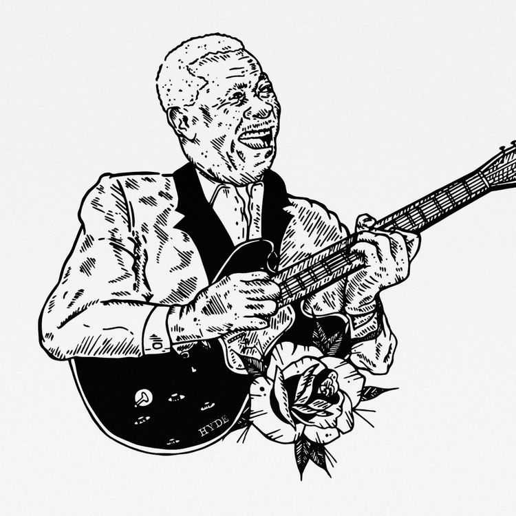 B B King Artwork