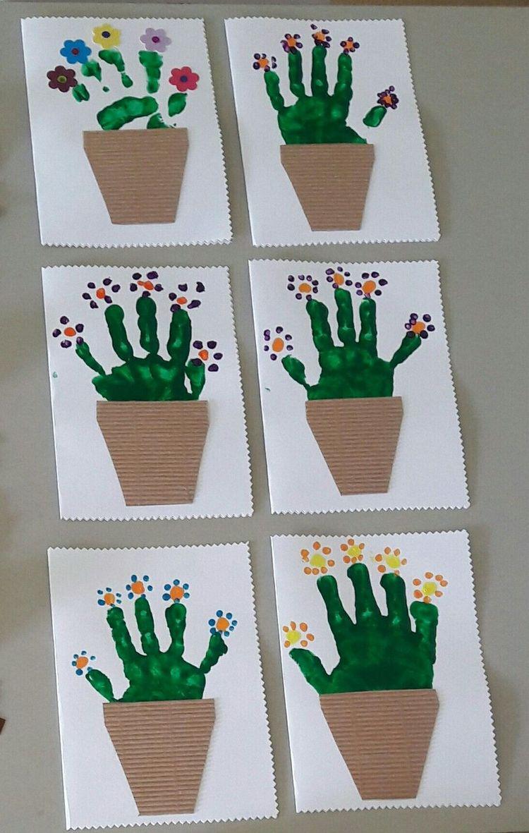 Spring Crafts Preschool Creative Art Ideas 34
