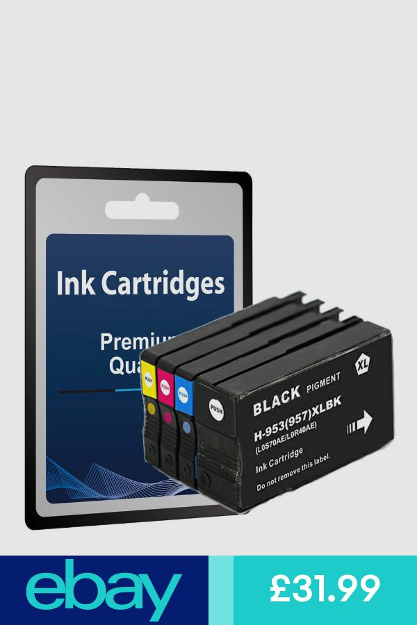 4 Compatible Ink Cartridges for HP 953 XL 7720 7730 7740 82