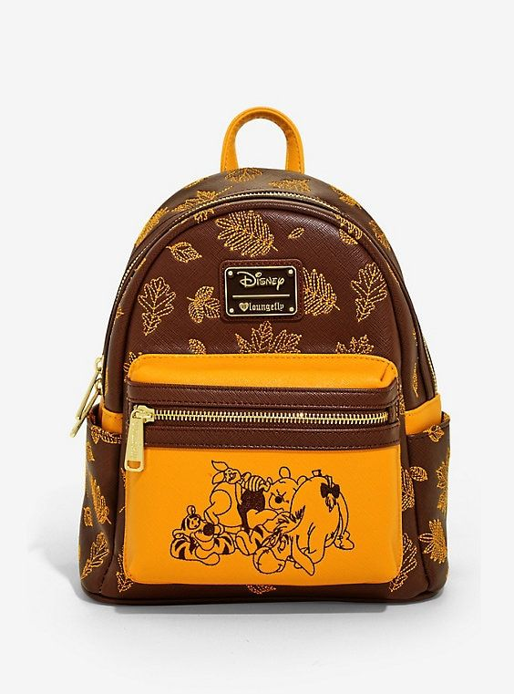 16b8db6c576 Loungefly Disney Winnie The Pooh Autumn Mini Backpack - BoxLunch Exclusive