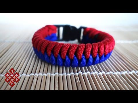 Thick Snake Knot Viceroy with Buckles Paracord Bracelet Tut