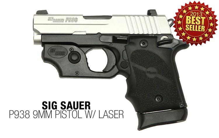 9: Sig Sauer gave the discreet, all-metal P238 platform so