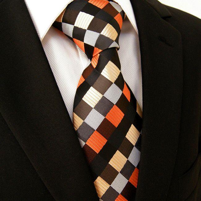 b8ebbe59bedd Multi color Silk Necktie Set JXPS04