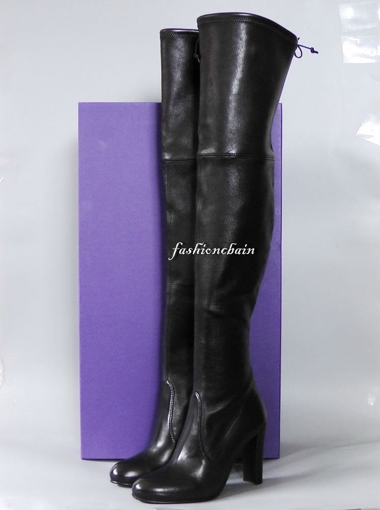 d76bcda30b0 Details about NEW Stuart Weitzman Highland Over the Knee boot Shoe  869