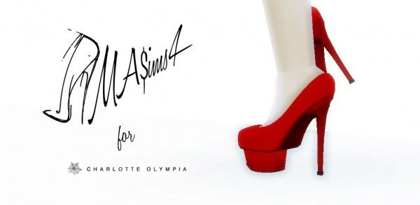 f8dbecca4ea2 MA ims 3  Charlotte Olympia Platform Pumps • Sims 4 Downloads